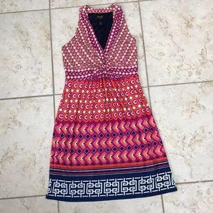 Summer print Halter Dress (size 8)